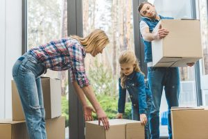 moving with your family